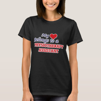 My heart belongs to a Physiotherapy Assistant T-Shirt
