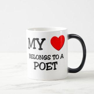 My Heart Belongs To A POET Coffee Mug