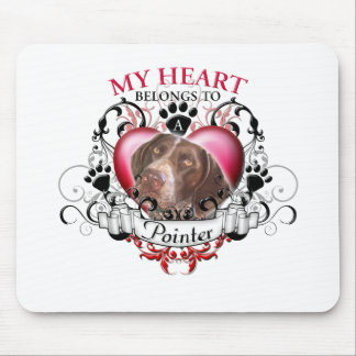 My Heart Belongs to a Pointer Mouse Pad