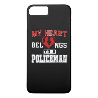 My heart belongs to a Policeman iPhone 7 Plus Case
