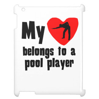 My Heart Belongs To A Pool Player Case For The iPad 2 3 4