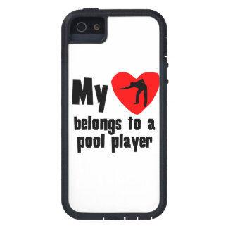 My Heart Belongs To A Pool Player iPhone 5 Covers