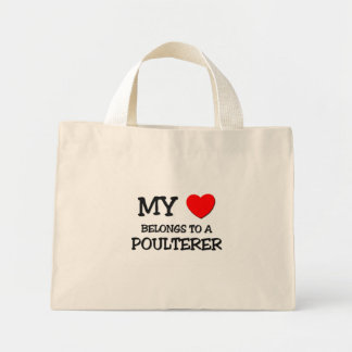 My Heart Belongs To A POULTERER Tote Bags