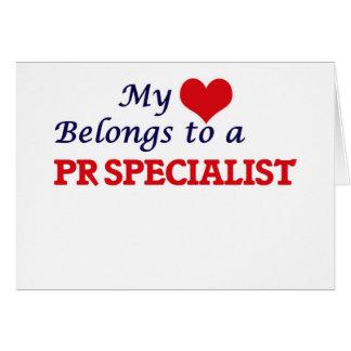 My heart belongs to a Pr Specialist Card