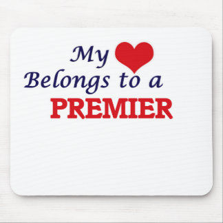 My heart belongs to a Premier Mouse Pad