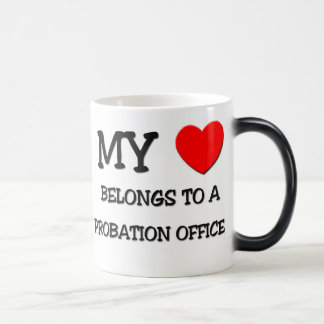 My Heart Belongs To A PROBATION OFFICER Coffee Mug