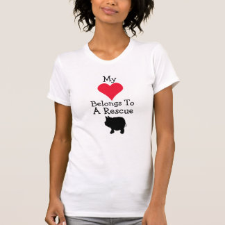 My Heart Belongs To A Rescue Mini Pig T-Shirt