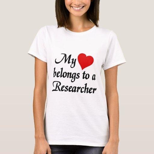 My heart belongs to a Researcher T-Shirt