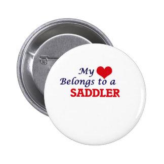 My heart belongs to a Saddler Button