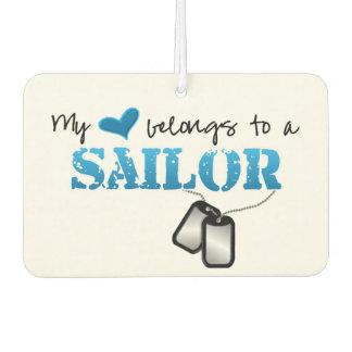 My Heart Belongs To A Sailor Air Freshener
