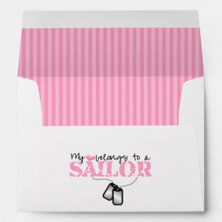 My heart belongs to a Sailor Envelope