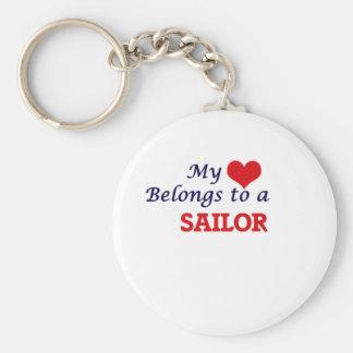 My heart belongs to a Sailor Keychain