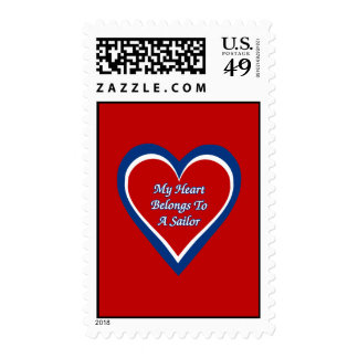 My Heart Belongs to a Sailor Stamps