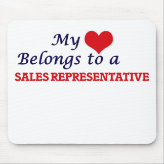 My heart belongs to a Sales Representative Mouse Pad