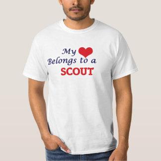 My heart belongs to a Scout T-Shirt