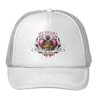 My Heart Belongs to a Sheltie Trucker Hat