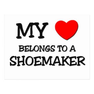 My Heart Belongs To A SHOEMAKER Post Card