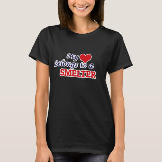 My heart belongs to a Smelter T-Shirt
