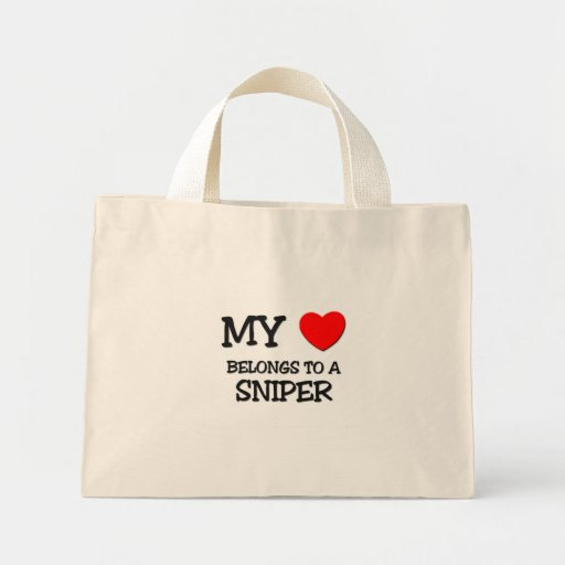 My Heart Belongs To A SNIPER Bags
