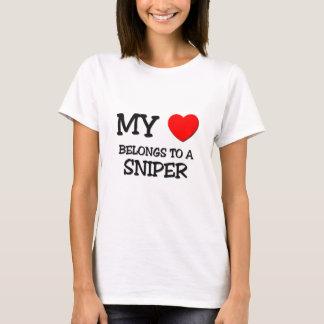 My Heart Belongs To A SNIPER T-Shirt