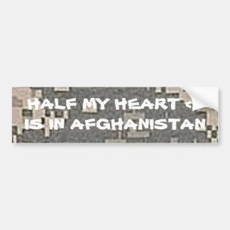 My Heart Belongs To A Soldier Love Art Car Bumper Sticker