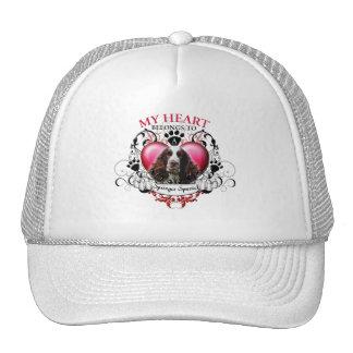 My Heart Belongs to a Springer Spaniel Hat