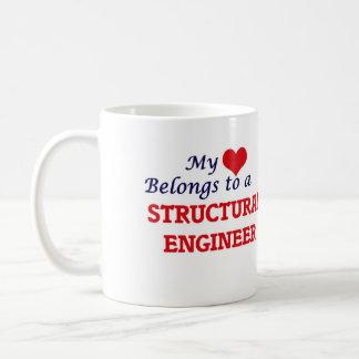 My heart belongs to a Structural Engineer Coffee Mug