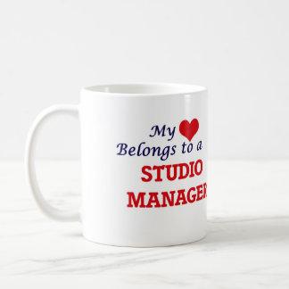 My heart belongs to a Studio Manager Coffee Mug