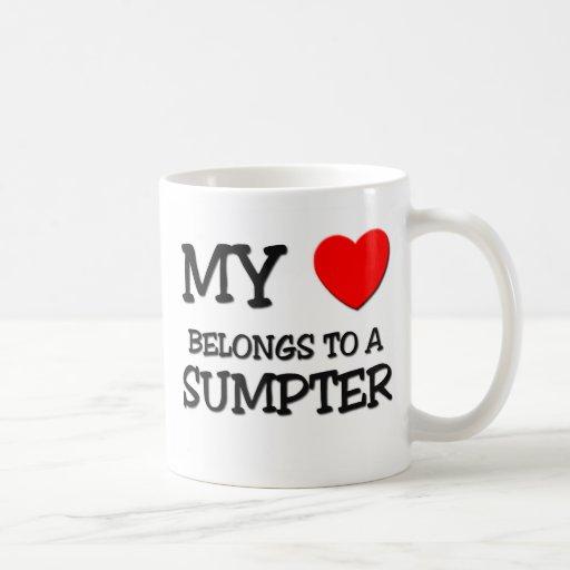 My Heart Belongs To A SUMPTER Mugs