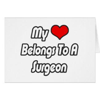 My Heart Belongs To A Surgeon Cards