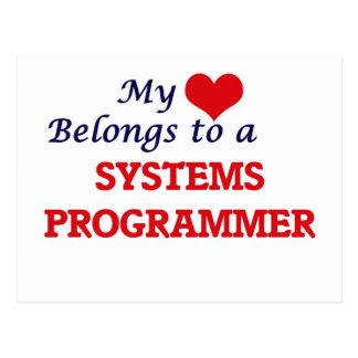 My heart belongs to a Systems Programmer Postcard