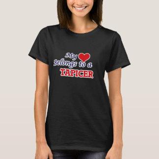 My heart belongs to a Tapicer T-Shirt