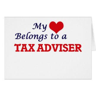 My heart belongs to a Tax Adviser Card