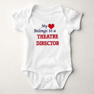 My heart belongs to a Theatre Director Baby Bodysuit