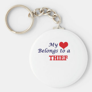 My heart belongs to a Thief Keychain