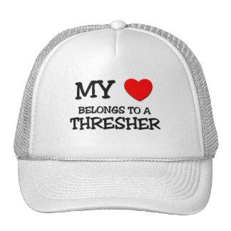 My Heart Belongs To A THRESHER Hat