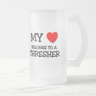 My Heart Belongs To A THRESHER Coffee Mug