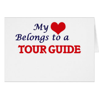 My heart belongs to a Tour Guide Card