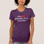 My heart belongs to a Trucker Tshirt