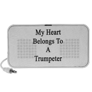 My Heart Belongs To A Trumpeter Mini Speaker