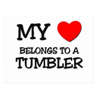My Heart Belongs To A TUMBLER Postcard