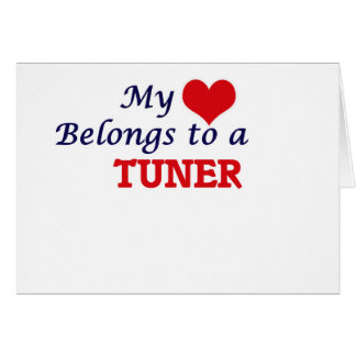My heart belongs to a Tuner Card
