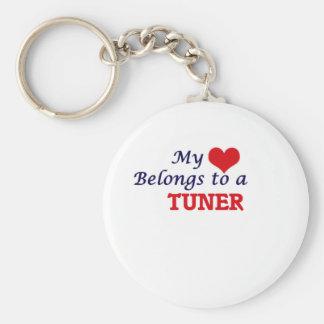 My heart belongs to a Tuner Keychain
