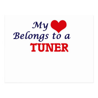 My heart belongs to a Tuner Postcard