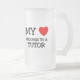 My Heart Belongs To A TUTOR Mug