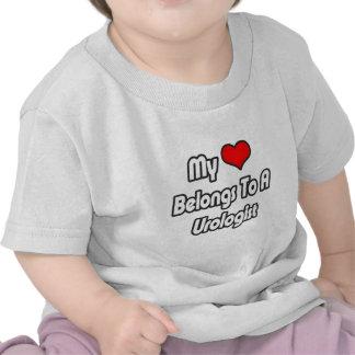 My Heart Belongs To A Urologist T Shirt