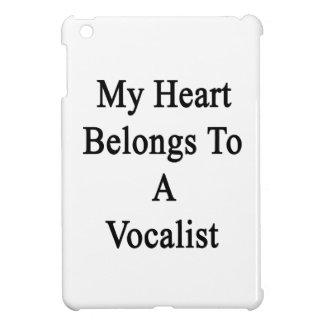 My Heart Belongs To A Vocalist iPad Mini Cover