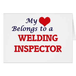 My heart belongs to a Welding Inspector Card