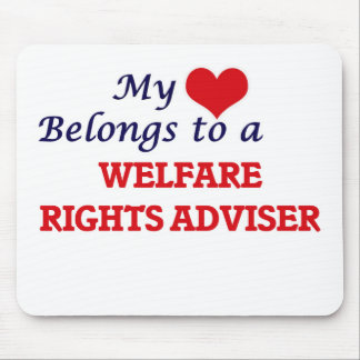 My heart belongs to a Welfare Rights Adviser Mouse Pad
