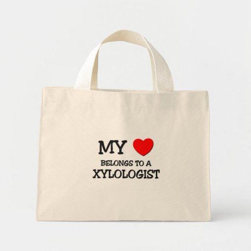 My Heart Belongs To A XYLOLOGIST Bags